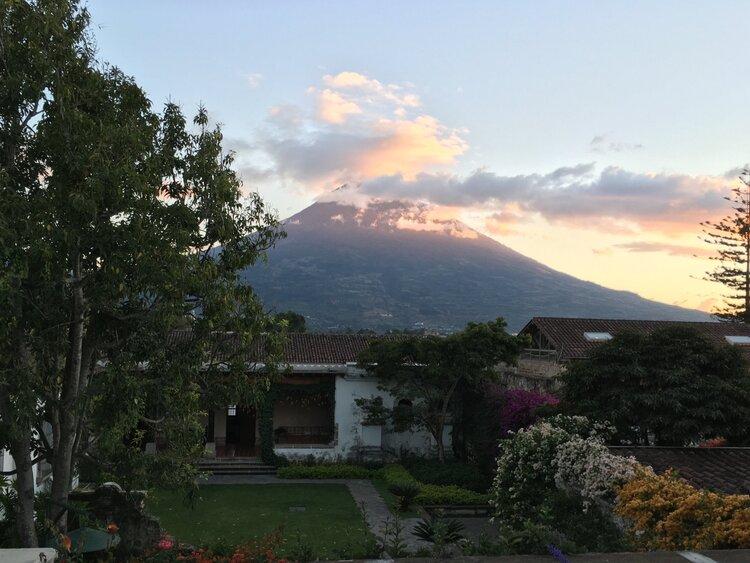 Ebb and Flow in Antigua, Guatemala