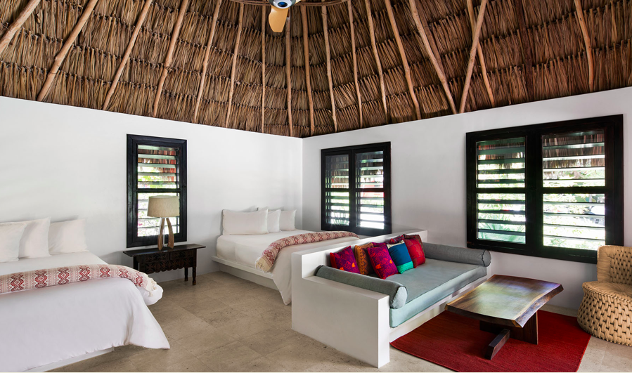 Matachica's serene and technology-free property (rooms are WiFi-, phone- and television-free) allows guests to disconnect in order to reconnect with nature.