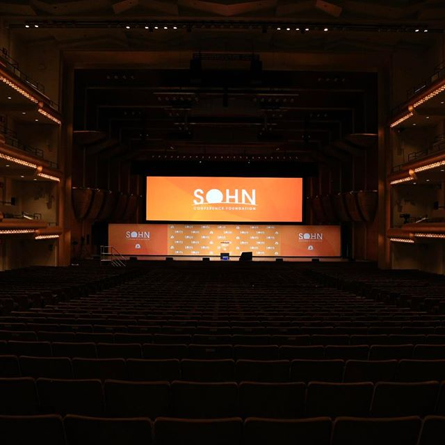 The stage is set #Sohn2017