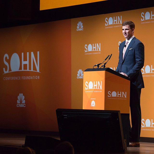 Countdown for this year's Sohn Conference at Lincoln Center: 12 days.