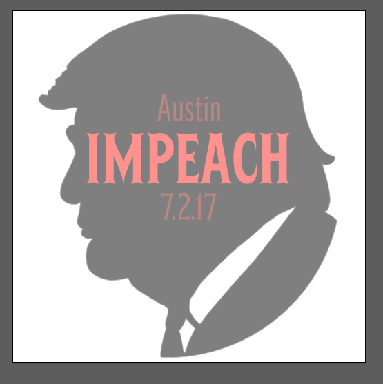 Impeachment March Austin 2017