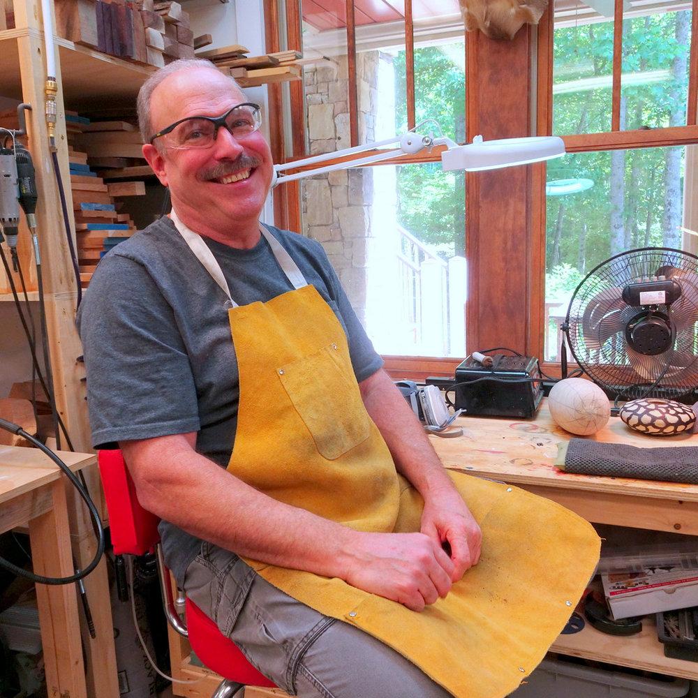 Steve Miller, Studio, Visits, Asheville, NC