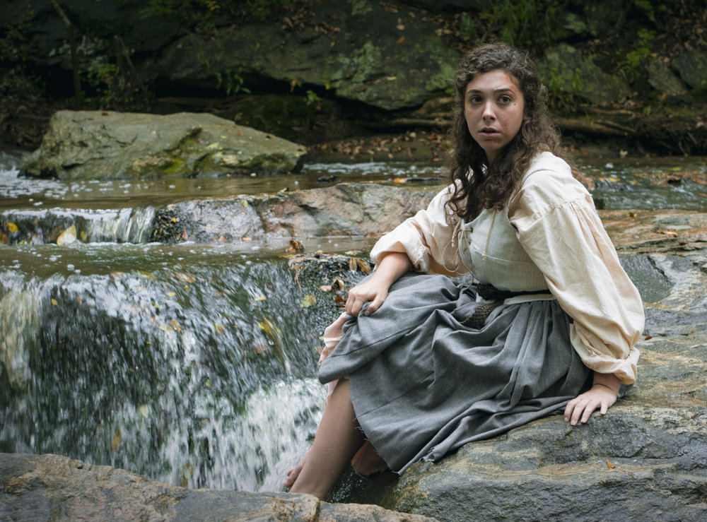 Undergraduate Melanie Sheahan as Helen Horne in UGA Theatre's production of  The Last Witch .