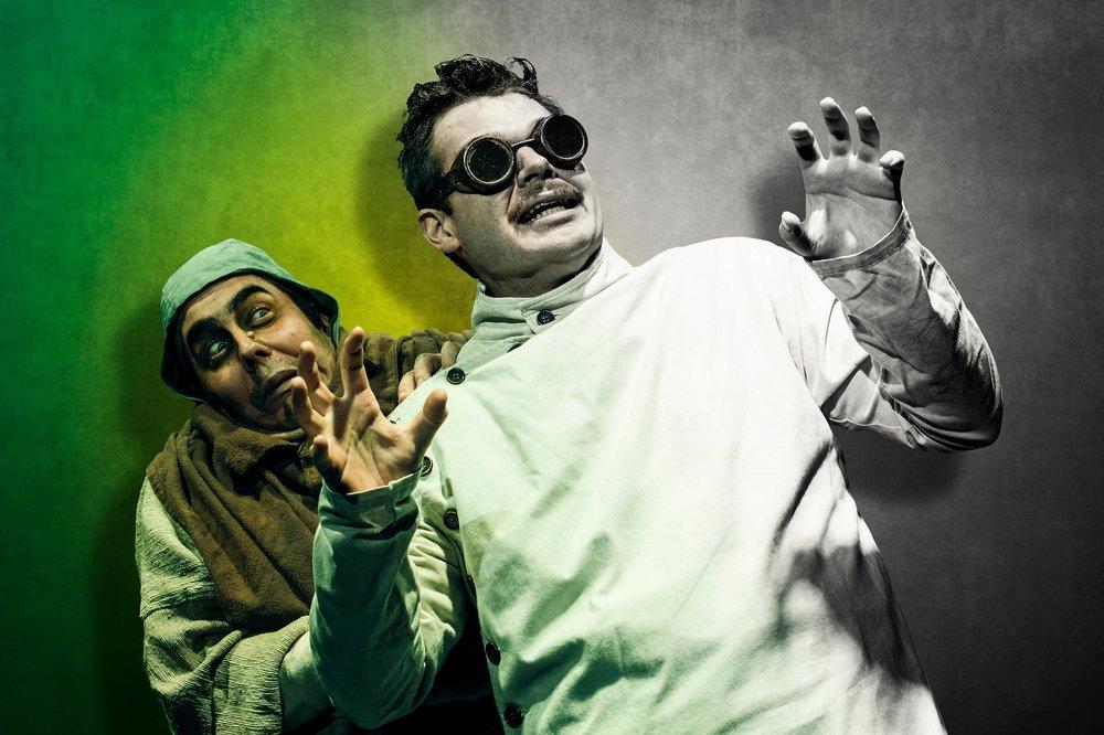 MFA Actors Sean Birkett & John Galas