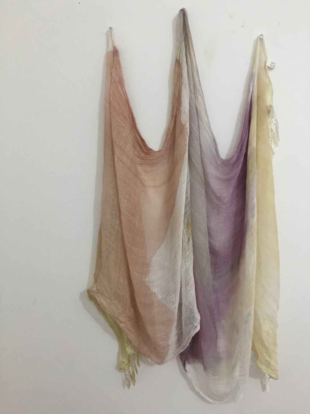 Natural Dye on cotton  -