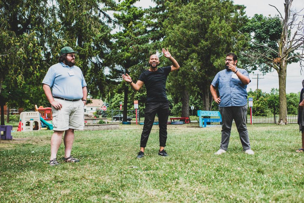 Outdoor fun at the Rida Institute