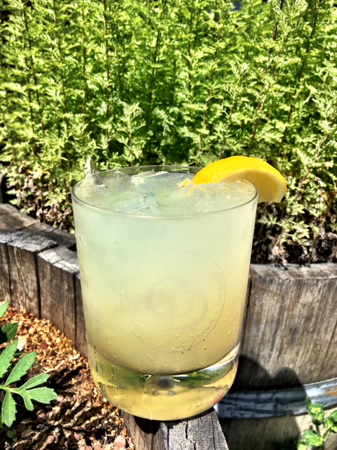 Northern Lights  - In a rocks glass: Ice1/2 oz. Trail of the Cedars Absinthe1 oz. Glacier Distilling GinTop with grapefruit soda (we use San Pellegrino)Add a float of Little Cottonwood liqueurGarnish with fresh lemon wedge