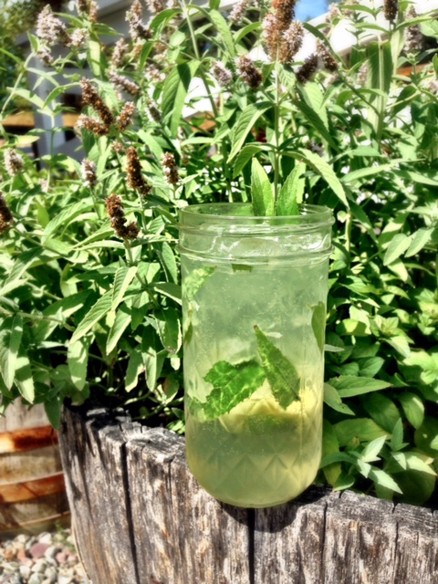 Refreshmint - In a shaker:Add 1 oz. Glacier Distilling Vodka1/2 oz. mint simple syrupLime wedge, squeezedIceShake and dump into juice masonTop with Dry Cucumber SodaGarnish with spanked mintTo make mint simple: In a pot, dissolve 2 ½ cups sugar with 2 ½ cups water. Bring to a boil. Turn off heat. Add 4 oz. fresh mint. Let steep for 30 minutes. Strain and cool for serving.