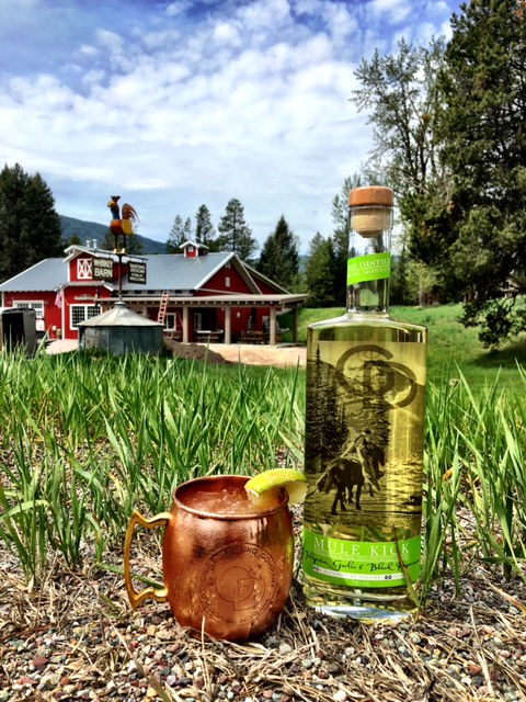 Kicking Mule - In a copper mug:2 oz. Mule KickIceFill with ginger beer, leaving about ½ inch of roomTop with pineapple juiceGarnish with fresh lime