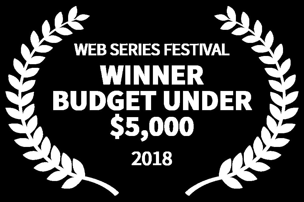 WEB SERIES FESTIVAL - WINNER BUDGET UNDER 5000 - 2018.png