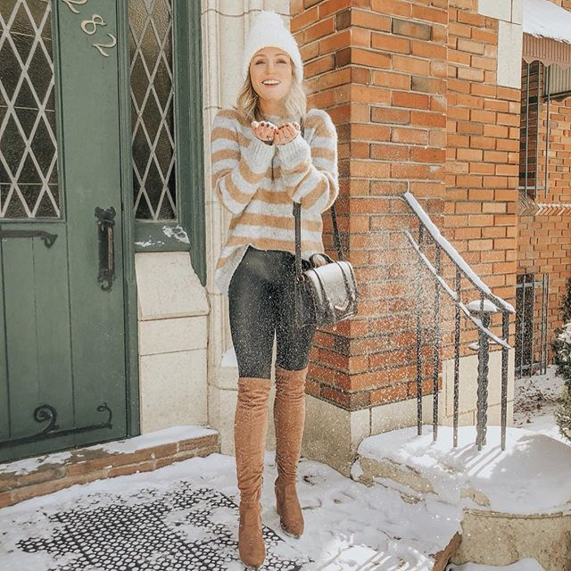 ❄️💙SNOW happy to be back! 💙❄️ ...and, i come with great news: my favorite otk boots {seen here, and in MANY other places on my feed} are on sale for under $100 right now! follow me in the LIKEtoKNOW.it app or screenshot this pic to shop! ✨ http://liketk.it/2zdjL #liketkit #LTKshoecrush @liketoknow.it