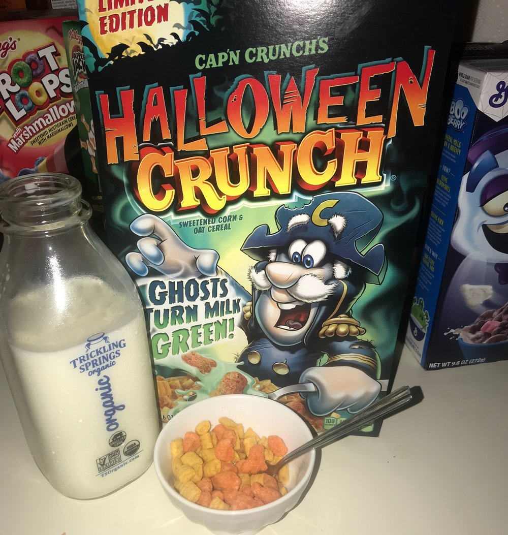 2017 Halloween Cereal Review — Rad Years