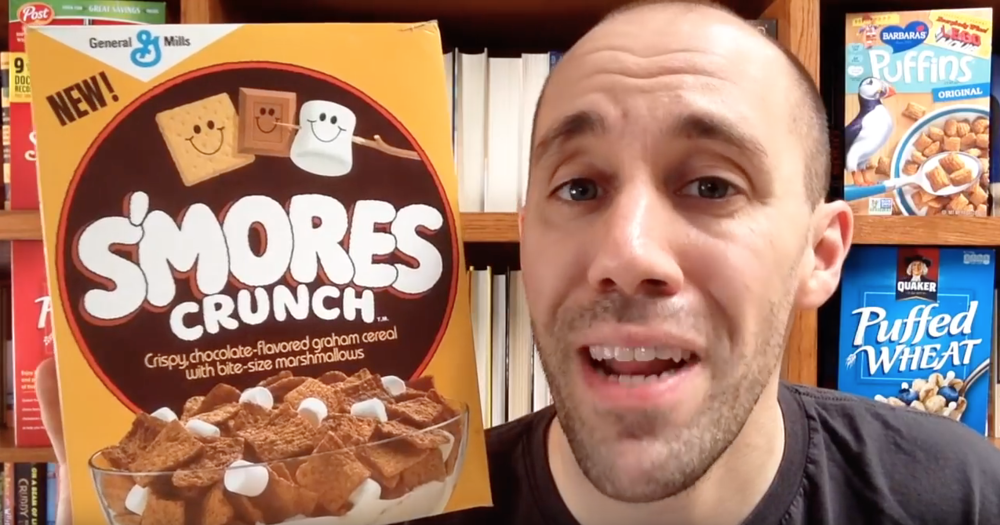 From Cereal Time on Youtube, link below