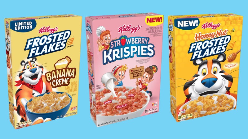 Also, strawberry Krispies which I'm very excited for!