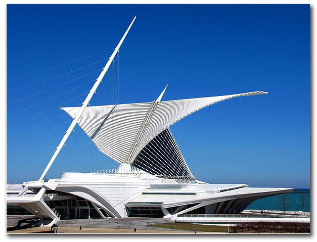 Quadracci Pavilion, Milwaukee Art Museum by Santiago Calatrava   palsson/Flickr