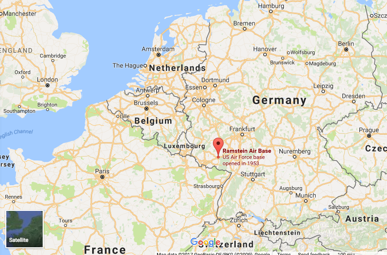 New Chapter Germany This Delightful Journey - Germany map ramstein