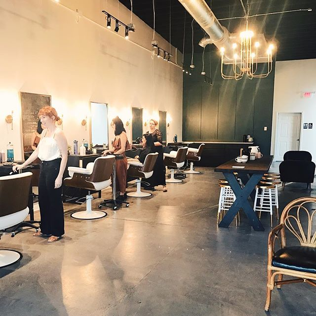 I'm so proud of my sweet friend @morganmondyhair (of @morganashleysalon) for opening her second location @mae__studio in Avondale! It's the most beautiful little space right next to lots of my favorite hang outs (@bigspooncreamery ☺️). Morgan and I go wayyyy back... so we always have rreeaaally good conversations while I'm sitting in her chair. 😂🤗 Yesterday I went in for some new fall hair, were hoping it helps bring in some cooler weather. 😏 If you're local to the area, make sure to follow @mae__studio for more updates including their Grand Opening coming up! #youdoyouboo #maeavondale