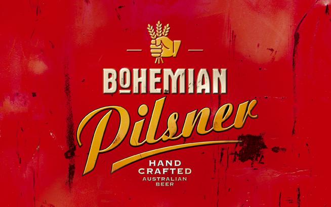 Stroh's Bohemian Pilsner