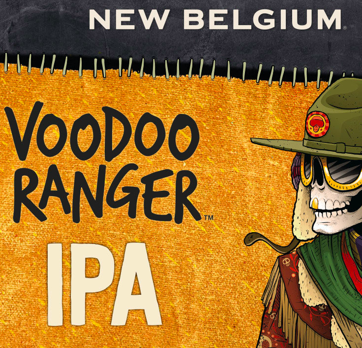Fat Tire Voodoo Ranger IPA
