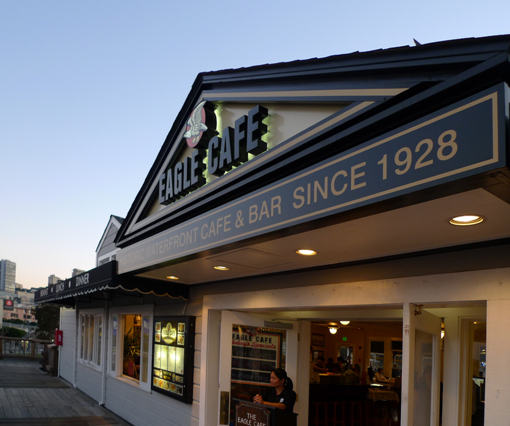 The Eagle Cafe & Bar Since 1928