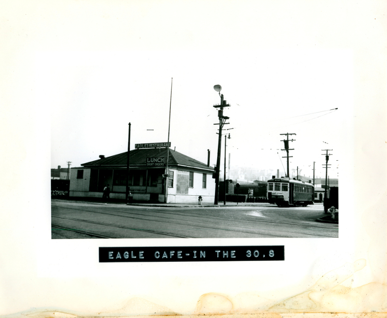 Eagle Cafe in the 1930s in San Franciso