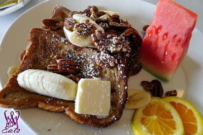 Banana & Pecan French Toast -
