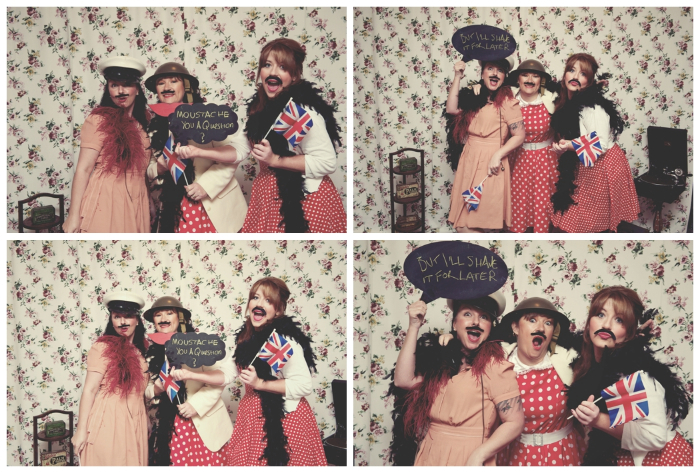 Photo booth fun! Photo credit:  Rebecca Douglas