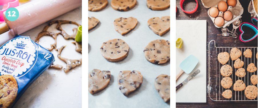 How to make EASY Strawberry & Tennis Ball Biscuits For a Wimbledon Themed Party or sporty celebration using pre-made chocolate chip cookie dough
