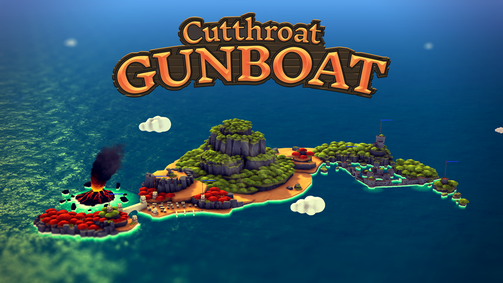 Cutthroat Gunboat - A local multiplayer party game where you sail ships and blow up your friends.Learn More →