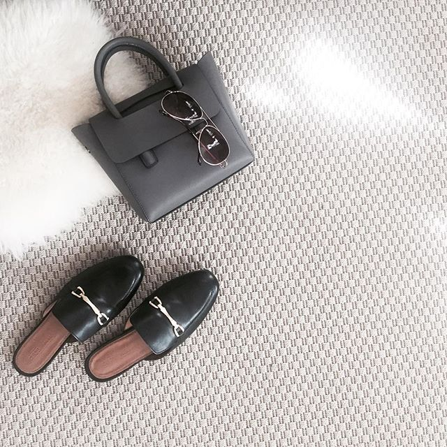 Fall Essentials. Loving the mule trend this year!