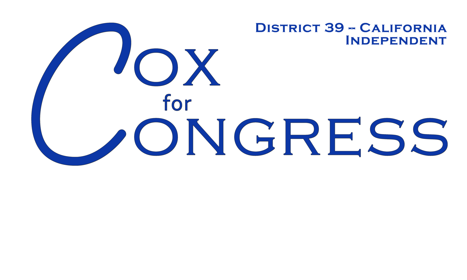 Cox for Congress