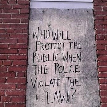 In  any  truly free country, this is a question that we must be able to easily and quickly answer. Police are tasked with enforcing the law, so when they break the law, who do we turn to?