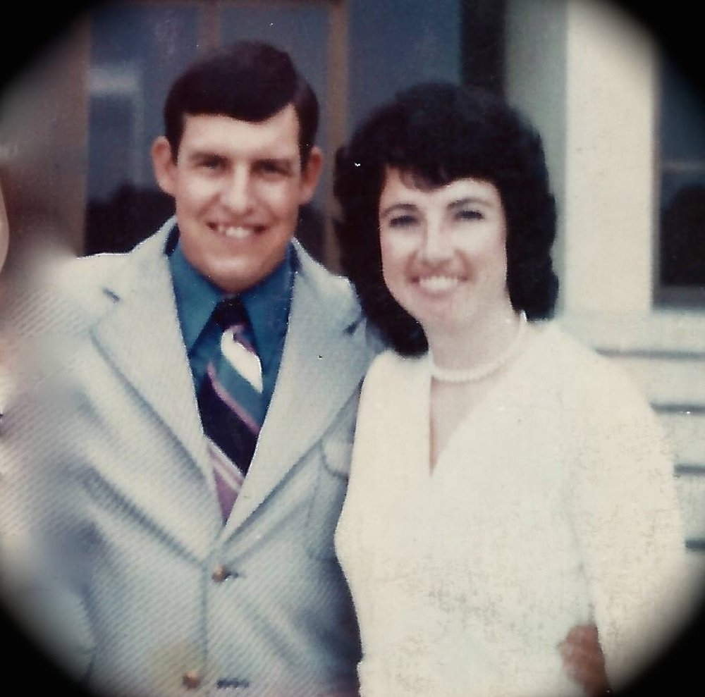 My parents, Dennis and Jeannette, at the Fullerton Courthouse on their wedding day, in 1972. I'm as rooted in   District 39 as  anybody .