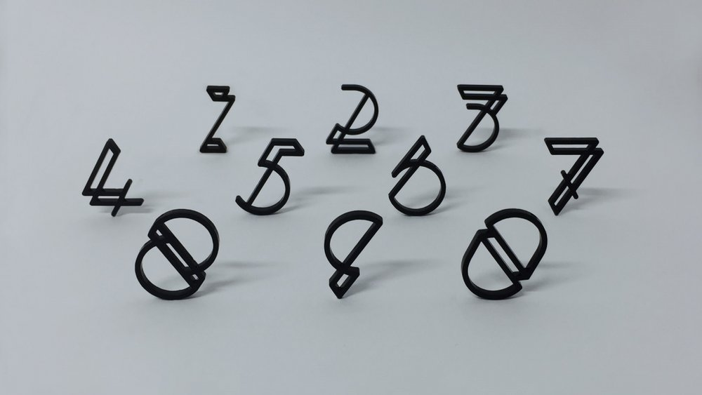 Laser cut typographic experiment by Mark Richardson