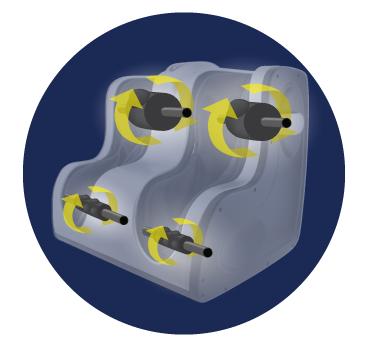 Reflexology Rollers