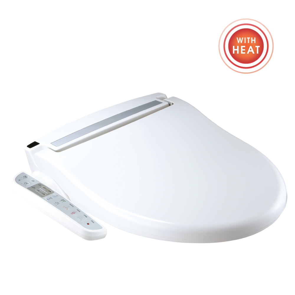 Wash Mate Deluxe Bidet Toilet Seat Attachment W Hygienic Nozzles And