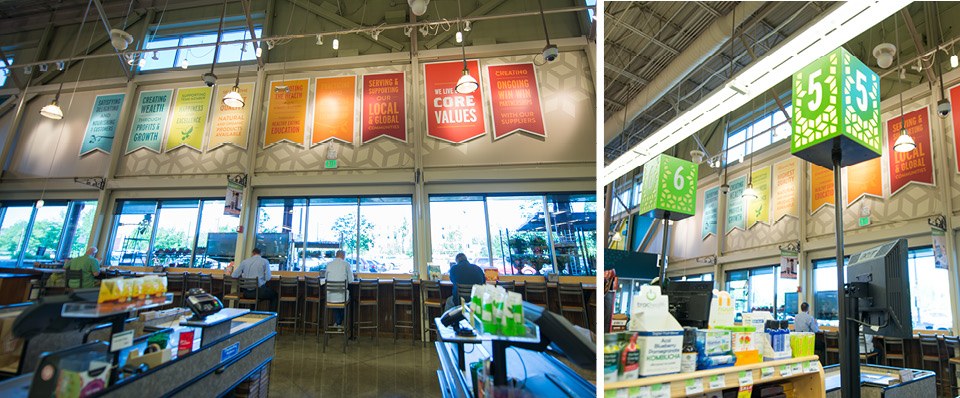 """whole foods core values """"whole foods market is honored to be recognized as a company with a conscience,"""" said john mackey, co-ceo and co-founder of whole foods market """"our core values."""