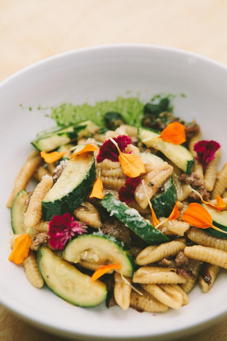Cavatelli, Zucchine & Salsiccia