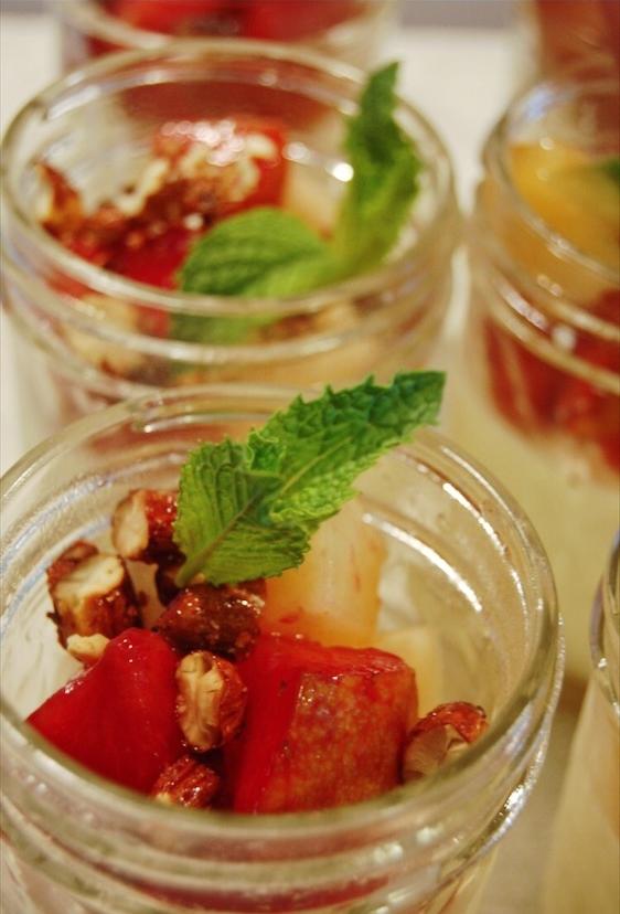 Panna Cotta & Frutta di Stagione