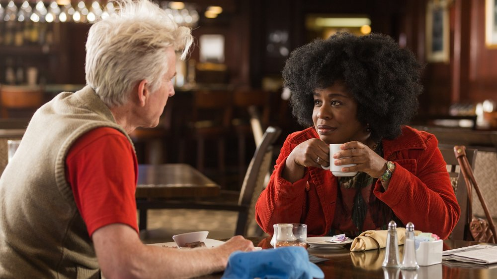 Virginia (Uzo Aduba) meets with Congressman Cliff Williams (Matthew Modine).