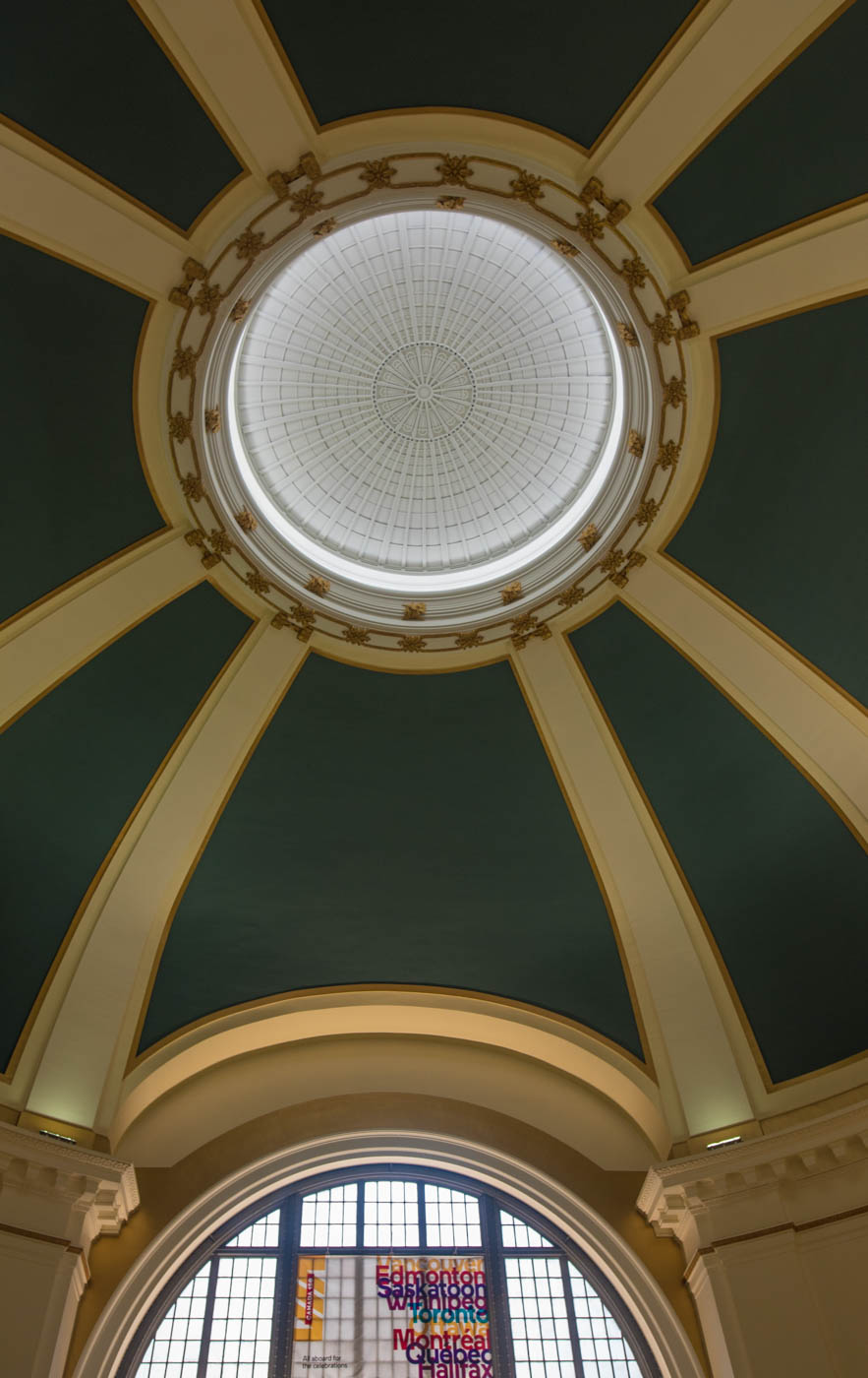 Train station dome