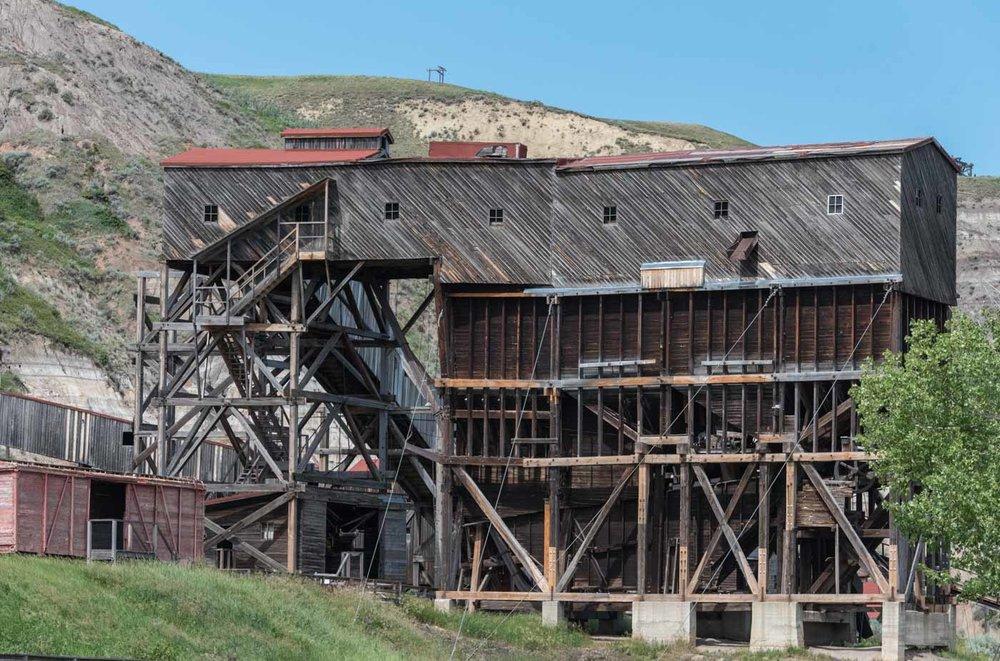 Mine building at Atlas Mine