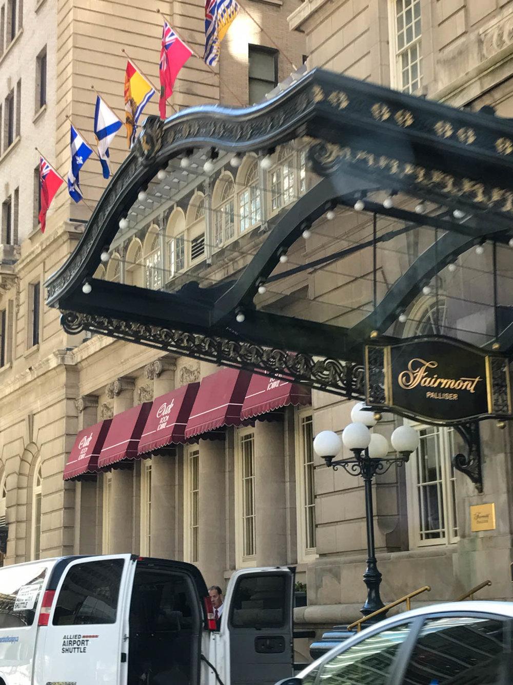 Fancy Hotels downtown