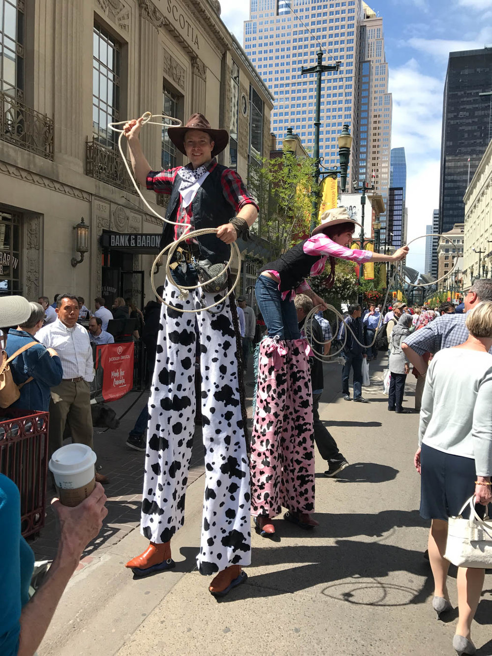 Long legged cowboys/cowgirls