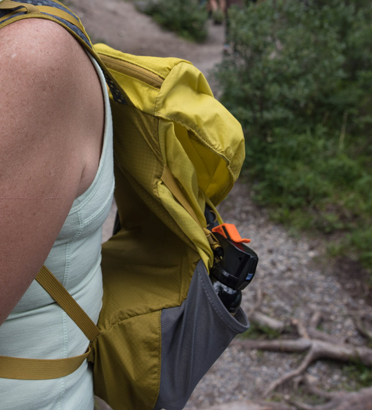 Bear spray, easy access