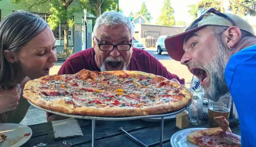 Mmmmm pizza