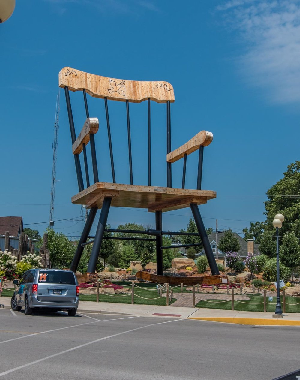 worlds largest chair Casey, Il