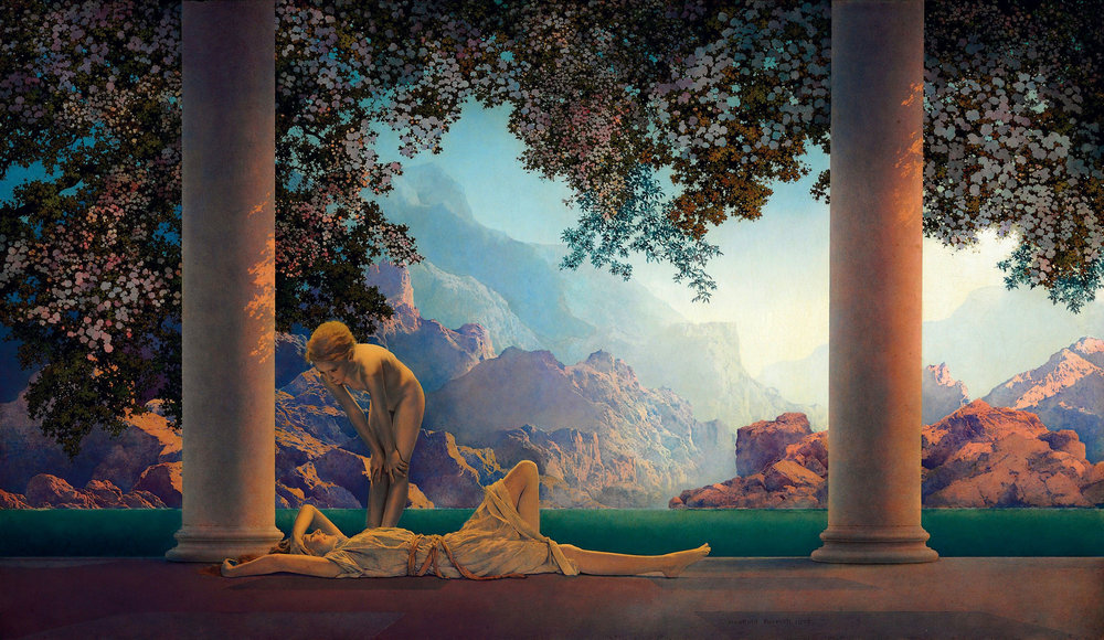 Daybreak -  Maxfield Parrish