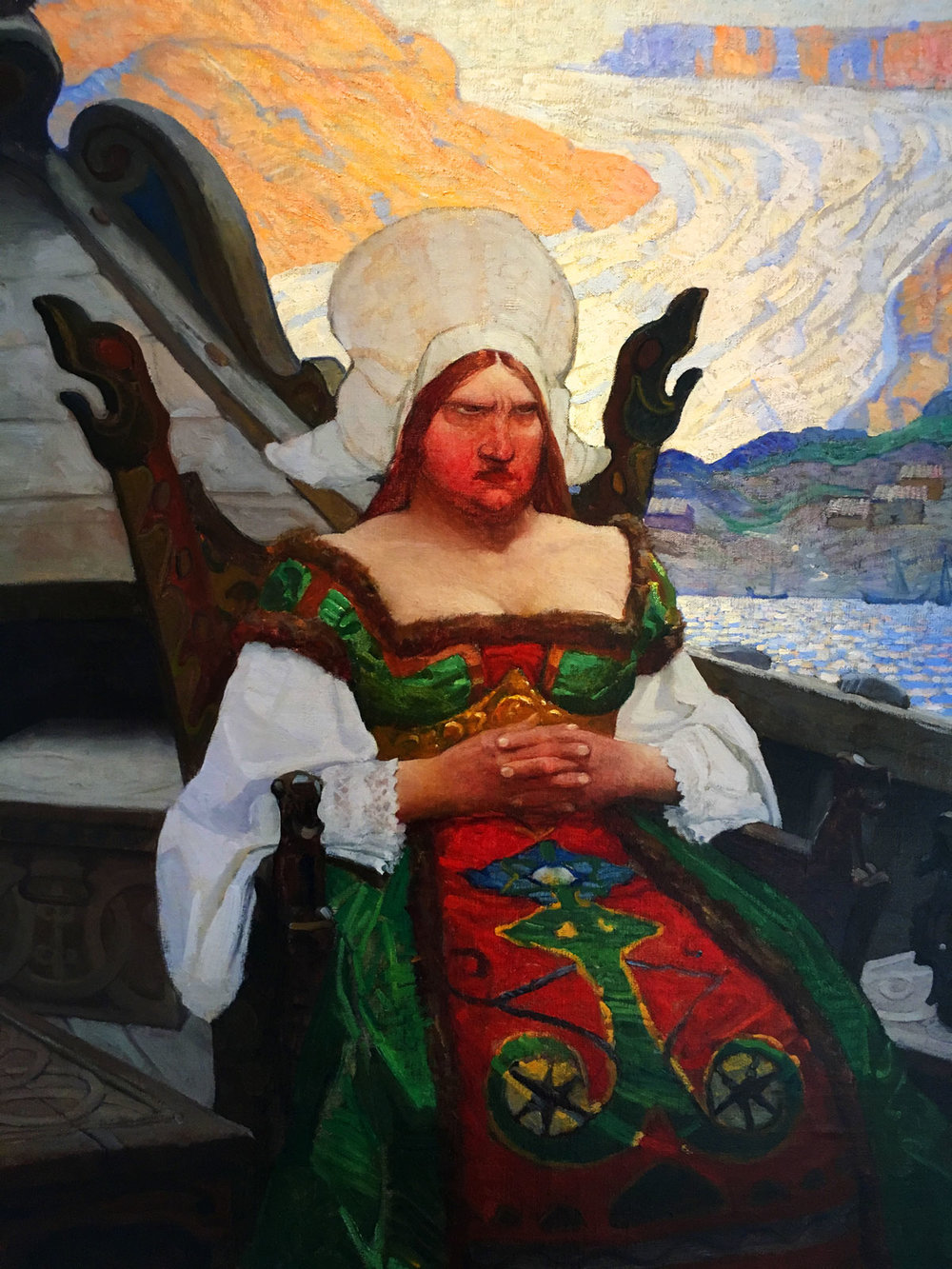 Viking Princess - I think by Wyeth