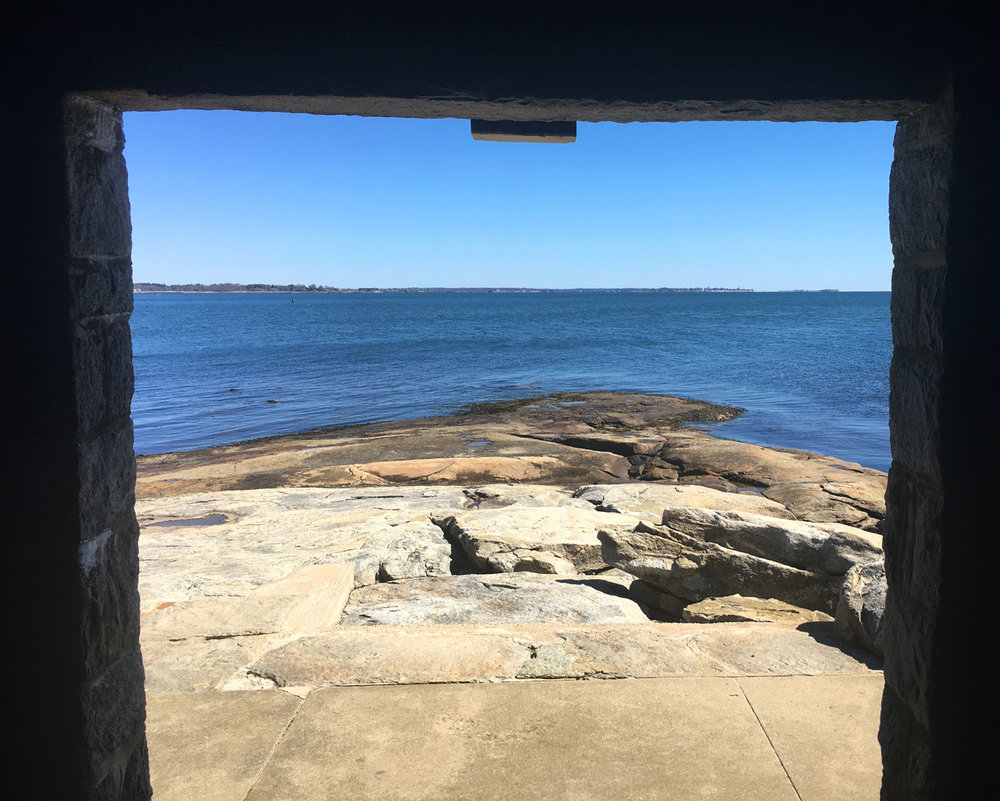 View from the Seaside Chapel